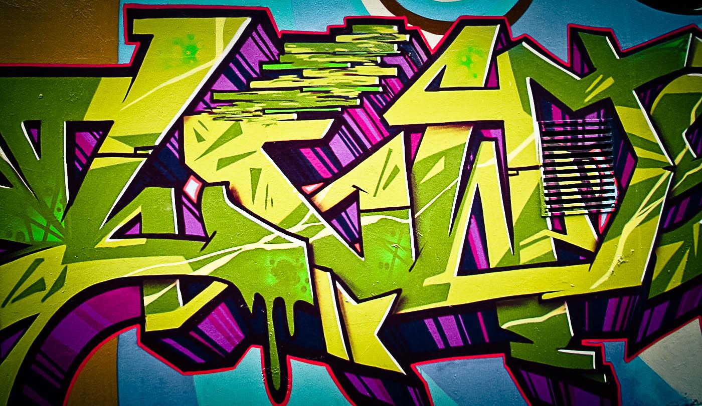 Painted Wall Murals Graffiti